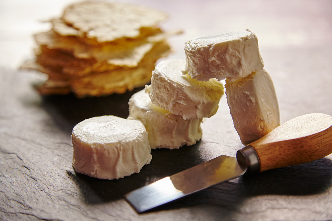 mini goat cheese