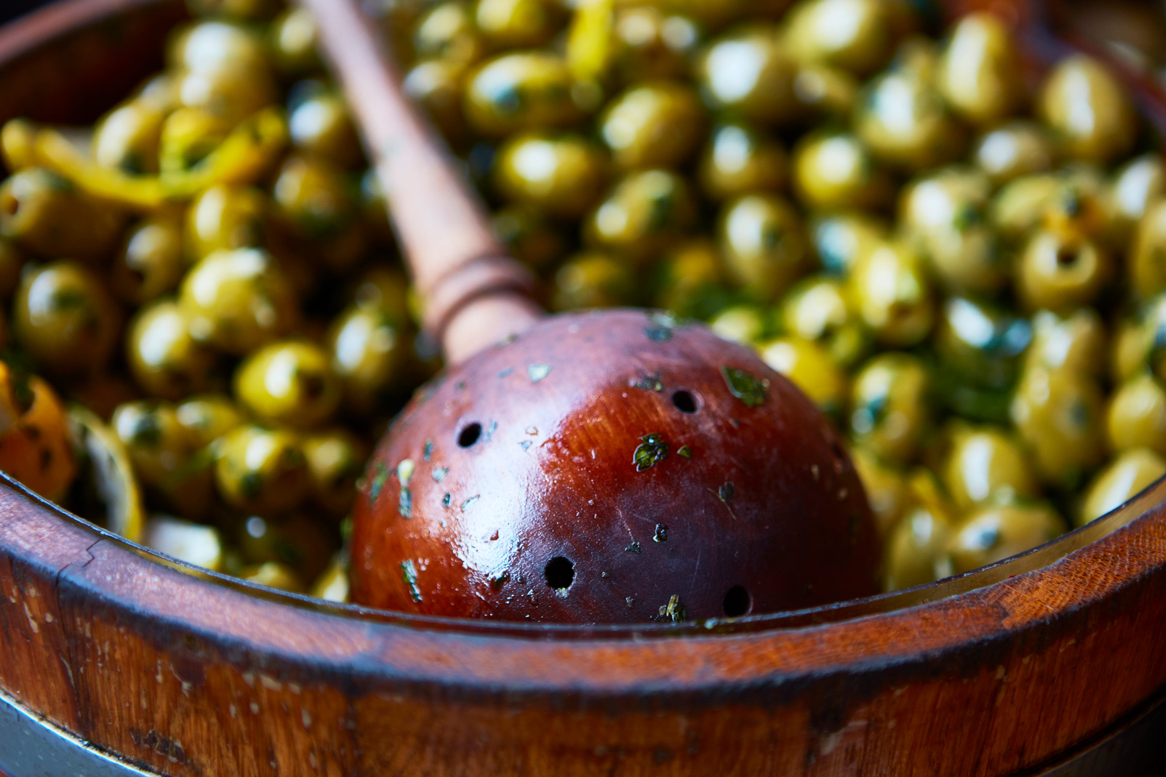 London-Food-green olives